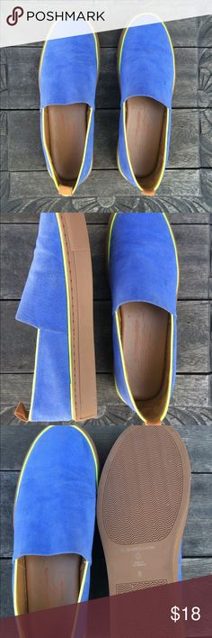 Clover Canyon Blue Suede Shoes Clover Canyon Blue Suede Shoes  Details • Lightly used • 1' soles Clover Canyon Shoes Sneakers