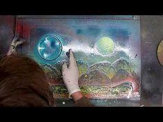 Wunderschönes Bild in der Fliesstechnik ( Green Light ) - YouTube