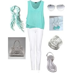 aqua and silver...reminds me of the ocean http://media-cache8.pinterest.com/upload/75505731222780903_id9ZVVp1_f.jpg cindaw spring summer fashion i love