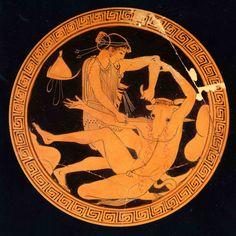 Ancient Greek Art, Ancient Greece, Greek Mythology Art, Roman Mythology, Greek Mythological Creatures, Classical Greece, Mythology Tattoos, Greek Pottery, Vases