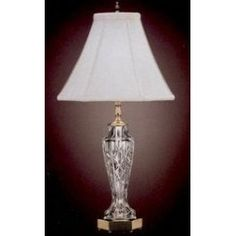 "Waterford Crystal - Evanwood Table Lamp - 26"" Tall - AddAnyLogo.com: Personalize Anything."