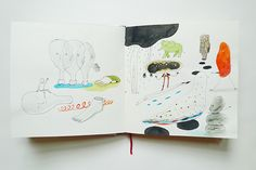 sketchbooks with Zoe on Behance