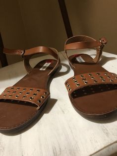 1a937bd7c785 Steve Madden Womens Sandals Size 10 New With Tags  fashion  clothing  shoes