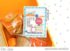 Back to School Card with Meghann Andrew for Elle's Studio