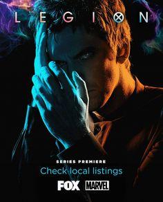 Bildergebnis für Legion-Marvel X-Men serie 2017 poster X Men, Men Tv, Legion Movie, Legion Fox, Serie Marvel, Marvel X, Cultura Nerd, Cultura Pop, Charles Xavier