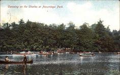 Norumbega Park Newton, MA
