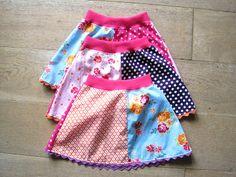 Effie maakt: rokjes  ook een manier om restjes te gebruiken