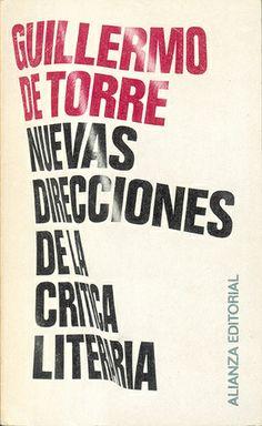 Nuevas direcciones de la crítica literaria. Daniel Gil