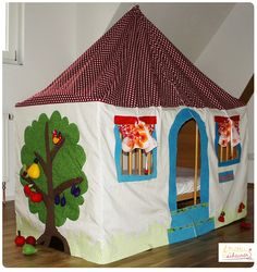 Foto zu Schnittmuster Spielhaus und Betthimmel von Frau Scheiner