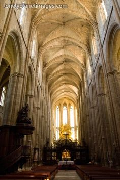 Can't believe I know people who live there. Basilica Sainte Marie-Madeleine in St Maximin-la-Ste-Baume . St Therese Church, Saint Maximin, Brittany France, Place Of Worship, Cathedrals, Pilgrimage, Provence, Countryside, Places Ive Been