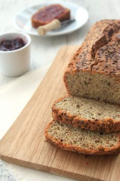 Grain-free Flax Almond Bread