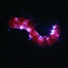 LED Glitter Bra New, no tags because it is handcrafted. Rave / EDC / Dance Bra with flowers and LED lights. Bra is purple and has Glitter on it. Size 36C . Is lightly padded. Intimates & Sleepwear Bras