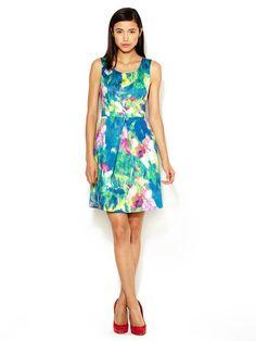 Floral Print Daisy Dress