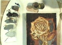 A Yellow Rose Oil Painting Demonstration on DVD