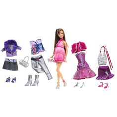"""Exclusive Barbie Fashion Doll Clothing Set - Party Time - Teresa $27.99 Additional Info """"R""""Web#:611533 SKU:410A3175 UPC/EAN/ISBN:027084895629 Manufacturer #: P8178 Product Weight:1pounds Product Dimensions (in i..."""