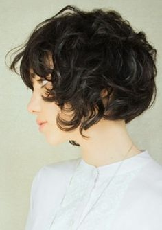 growing out curly pixie - Google Search