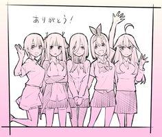 Go-Toubun no Hanayome Aesthetic Collage, Kawaii Anime, Anime Art, First Love, Marvel, Fan Art, Cartoon, Manga, Memes