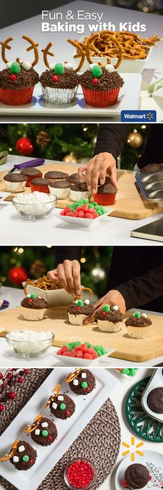 Fun & Easy: Baking with Kids | Walmart—Get into the holiday spirit by baking fun, festive, sweet treats with the kids this Christmas! These can also save you time if you make and freeze them ahead. Find inspiration and recipes at Walmart.com.