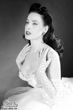 Dita Shared for the love of Pin up by  http://thepinuppodcast.com/
