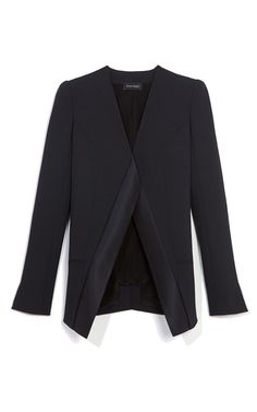 Midnight Stretch Wool Twill Jacket by Narciso Rodriguez