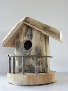 Cabane à oiseaux écologique: Amazon.fr: Animalerie