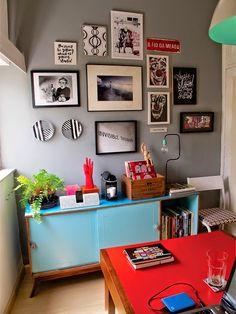Inspiración para decorar la oficina en casa
