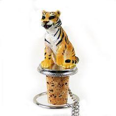 Tiger Bengal Bottle Stopper