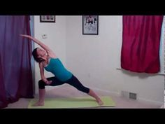 Standing Yoga Flow for butt, thighs, legs and back