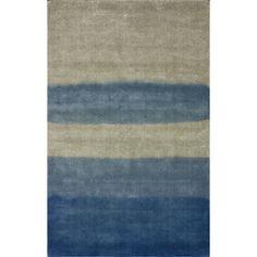 nuLOOM Modella Blue Tie Dye Rug