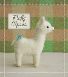 How to Crochet a Fluffy Alpaca Plushy from the book Cute Critter Crochet - Quarto Creates