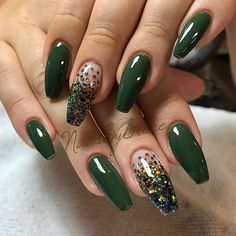 Beautiful Colorful Nail Design Ideas for Spring Nails 2018 # Spring Nails The post Gorgeous Colorful Nail Design Ideas for Spring Nails 2018 & appeared first on Nails. Green Nail Designs, Colorful Nail Designs, Acrylic Nail Designs, Nail Art Designs, Colorful Nails, Hot Nails, Swag Nails, Grunge Nails, Gorgeous Nails