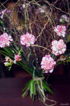 Pink grow arrangement