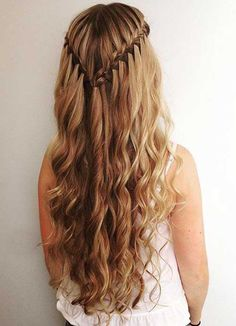 Hair Styles For School Schönste Wasserfall-Frisur-Frisuren Hair Styles For School Most Beautiful Waterfall Hairstyle Hairstyles Hairstyles Cool Braid Hairstyles, Chic Hairstyles, Hairstyle Ideas, Wedding Hairstyles, Hairstyles 2018, Undercut Hairstyles, Beautiful Hairstyles, Undercut Women, Updos Hairstyle