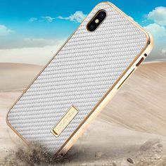 Luxury Original IMATCH Real Carbon Fiber Cover Metal Frame Case For Apple iphone X Case Cover Hard Full Protection Phone  JS0562. Yesterday's price: US $34.68 (28.55 EUR). Today's price: US $21.85 (18.03 EUR). Discount: 37%.