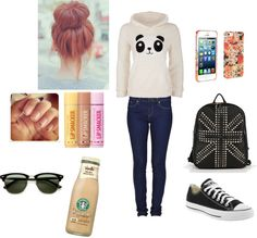 """""""Lazy Day"""" by vanilla-bean8 on Polyvore"""