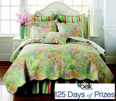 Turn your bedroom decor into the look of your dreams with a $500 bedding collection giveaway! #belk125