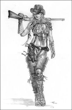 Heavy Metal Magazine  art by Tariq Raheem