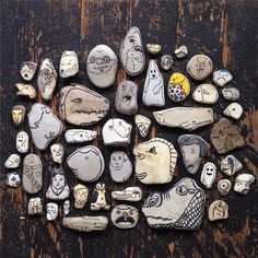 Doodlestones: Armed with a Sharpie and rocks, this guy is lifting people's spirits every day