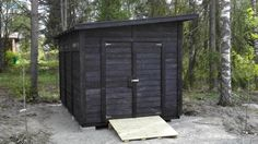 Suomen Huussitehdas - Pihavarasto Garage Doors, Outdoor Decor, Home Decor, Decoration Home, Room Decor, Carriage Doors, Interior Decorating