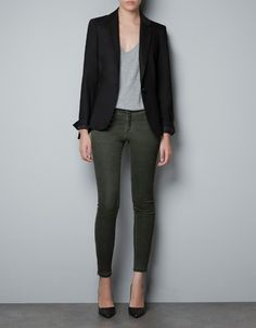 BASIC BLAZER - Blazers - Woman - ZARA United States $89.90