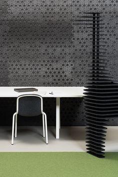 de vorm PET-felt products designboom