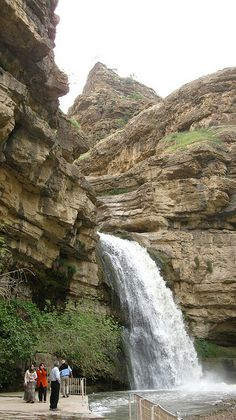 Gali Ali Beg, a famous waterfall in Northern Iraq / in Iraqi Kurdistan. by one-thirteen