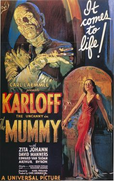 1930 the mummy movie poster