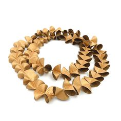Collar 'Fold' por ANA HAGOPIAN por ArteArtesania en Etsy