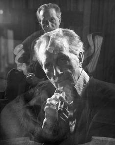 Triple Exposure of Marcel Duchamp Smoking a Cigar, by John D. Art Pictures, Photos, Art Pics, Out Of Focus, National Portrait Gallery, Man Ray, Conceptual Art, Double Exposure, Famous Artists