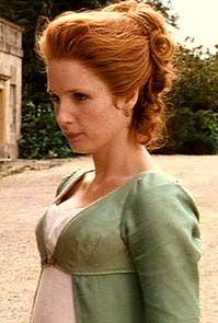 Quisiera ser amanda: Orgullo y Prejuicio: Caroline Bingley.