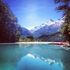 - This awesome adveture was near Paradise, NZ, on the epic Dart River. The name of the area was quite fitting on this sunny day Outdoor Supplies, New Zealand Landscape, Camping Store, Outdoor Store, Cool Landscapes, Sunny Days, Outdoor Gear, Exotic, Paradise