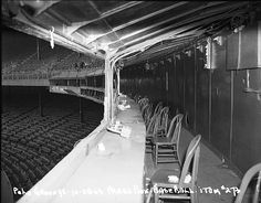 Press box at the Polo Grounds