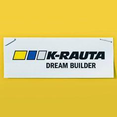 DREAM BUILDER Suomen parhaat työvälineosastot löydät K-raudasta video Tech Companies, Company Logo, Logos, Tips, Logo, Counseling