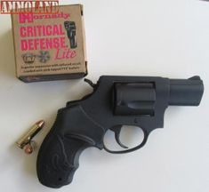 A nice combo, the .38 Taurus 85 Revolver with the Hornady lite ammo has virtually no recoil.